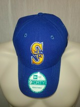 New Era 9Forty Seattle Mariners Blue Adjustable Cap Hat - $29.69