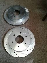 NEW  PowerStop JBR994XL JRB994XR Brake Rotor (jew) image 1