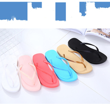 Beach Summer Flops Casual skid Women's resistant Fashion Flip Slippers B4Hx6A