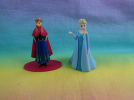 Disney Frozen Miniature PVC Anna & Elsa Figure or Cake Toppers - $3.22