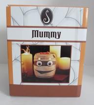NEW ScentSationals MUMMY Halloween Wax Warmer Bandaged Head Big Eyes - $23.36