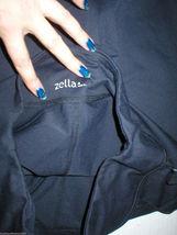 Women New Zella Nordstrom Pants Gym 0 Black Crop Capri Soul 2 Barre Yoga Pilate image 5