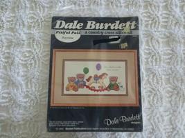 1985 Dale Burdett Pitiful Pals Playtime Country Cross Stitch Kit CK355 - $7.92