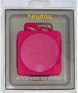 Brand New heyday Pizzazz Wireless Bluetooth Speaker, Fuschia Pink - $24.00