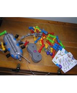 Gently Used Lot of Zoob Mover Remoted Control Plastic Building Blocks Pi... - $12.19