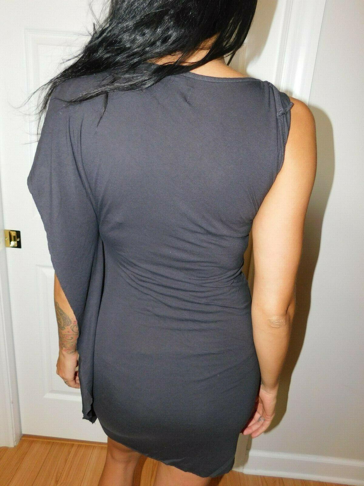 AllSaints Asymmetrical T-shirt Dress Size 8 image 6