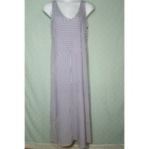Motherhood Maternity Women's Dress  Panel Striped Size L - $19.80