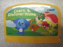 VTECH V.Smile Baby Learn & Discover Home game cartridge - $4.90