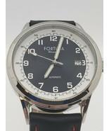 Rare Fortuna Chronometrie Automatic German Made Men's Watch Calfskin Lea... - $436.67