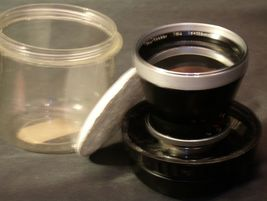 Carl Zeiss Pro-Tessar Lens f=115mm with fitted Zeiss Ikon Case AA-192033 Vintage image 3