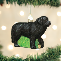 Old World Christmas Newfoundland Dog Christmas Ornament 12529 - $13.88