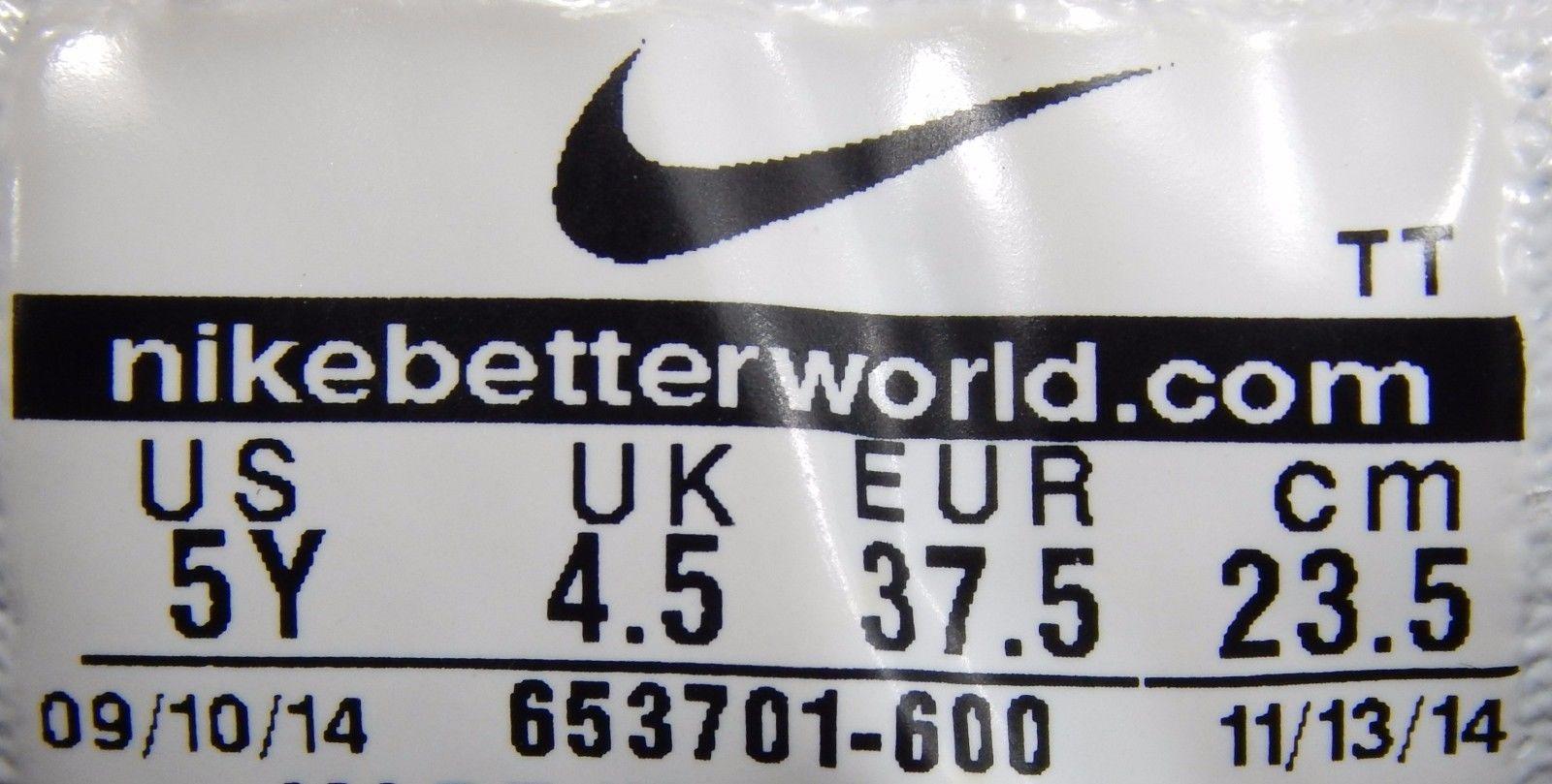 Nike Flex Experience RN 3 Boy's Athletic Shoes Size 5 Y (M) EU 37.5 653701-600