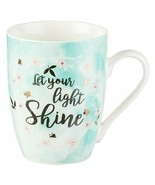 Mug Let Your Light Shine by Christian Art Gifts New Free Expedited Shipping - $11.73