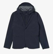 Lacoste Motion Lightweight 3-in-1 Rain Jacket Blazer, Dark Grey Size XL ... - $179.75