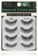 Ardell Demi Wispies Natural Multipack 4 pairs Black NEW!!! - $10.88+