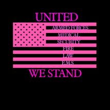 United we stand emergency response teams flag decal awareness sticker image 4