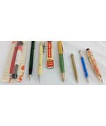 Vintage Mechanical Pencil Lot AT Cross Gold Golf Autopoint Scripto Depen... - $35.63