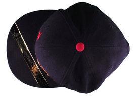 Dissizit! Side Bear Black Snapback Cap Hat California Star Flag image 6