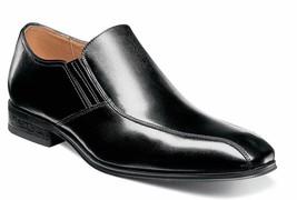 Florsheim Mens Corbetta Bike Black Slip On Shoes [14182 001] - $89.95
