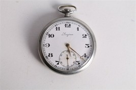 Antique Vintage Old Swiss Made Longines Open Face Mens Pocket Watch. - $266.41