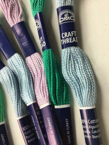 33x Needlepoint/Embroidery CRAFT THREAD DMC Cotton Thread/Mixed LoT image 2