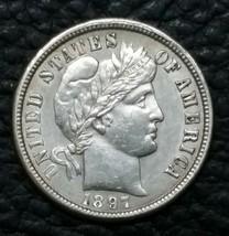 1897O Liberty Barber Head 10¢ Dime Silver Coin Lot# MZ 4653