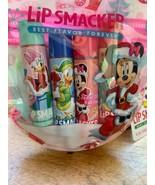 Set 4 Disney Mickey Lip Smacker Lip Balms Strawberry Berry Bliss Jelly R... - $12.99