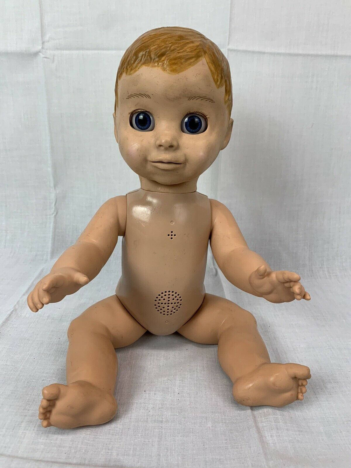 Primary image for Luva Bella Interactive Talking Baby Boy Doll Moves 22700 Spin Master Soft Face