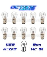 OCTANE LIGHTING 1158 6 Volt 6V Tail Light Brake Stop Turn Signal Lamp Bu... - $9.85