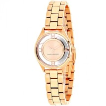 Marc Jacobs Women's MJ3417 Tether Rose-Tone Stainless Steel Watch - $158.67
