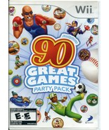 Family Party: 90 Great Games Party Pack (Nintendo Wii, 2010) - Complete - $4.45