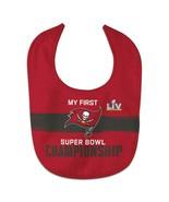 Tampa Bay Buccaneers Super Bowl LV Champions All-Pro Baby Bib - £7.91 GBP