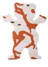 "Grizzly Griptape 5"" Tan Tree Branch Camo Bear Stamp Skateboard Sticker Decal"
