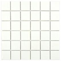 SomerTile FYFB2SMW Snowforest Quad Porcelain Floor and Wall Tile 10 PCS ... - $48.38