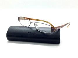 Prada Amber Tortoise 72H 5AV Eyeglasses Optical 51mm Narrow Case Not Included - $48.47