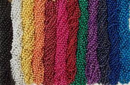 48 Choice Mardi Gras Beads Football Party Tailgate BCS Playoff 4 Dozen - €11,77 EUR
