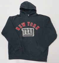 NY Giants Reebok NFL Vintage Collection Hoodie Sweatshirt Medium Blue Me... - €16,97 EUR