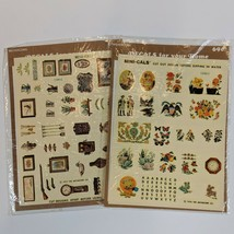 Vintage Meyercord Decal Mini-Cals water-slip transfer decals for Arts & ... - $14.99