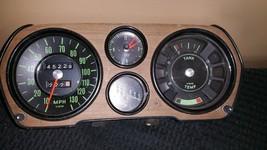 Vintage 1972 Audi LS Instrument Cluster Gauges Wood Grain - $28.49