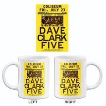 Dave Clark Five - 1965 - Charlotte NC - Concert Poster Mug - $23.99+