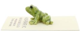 Hagen-Renaker Miniature Ceramic Frog Figurine Tiny Papa Frog, Baby and Tadpole image 10
