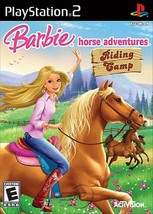 Barbie Horse Adventures: Riding Camp Playstation 2 PS2  Complete CIB - $16.00
