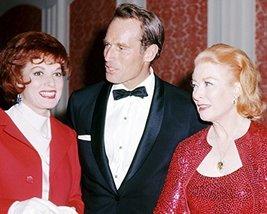 Charlton Heston With Wife Lydia And Maureen O'Hara 1960'S Academy Awards... - $69.99
