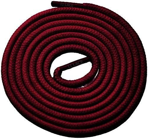 "Primary image for 54"" Burgundy 3/16 Round Thick Shoelace For All Men's Dress Shoes"