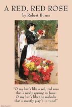 A Red Rose by Robert Burns - Art Print - $19.99+