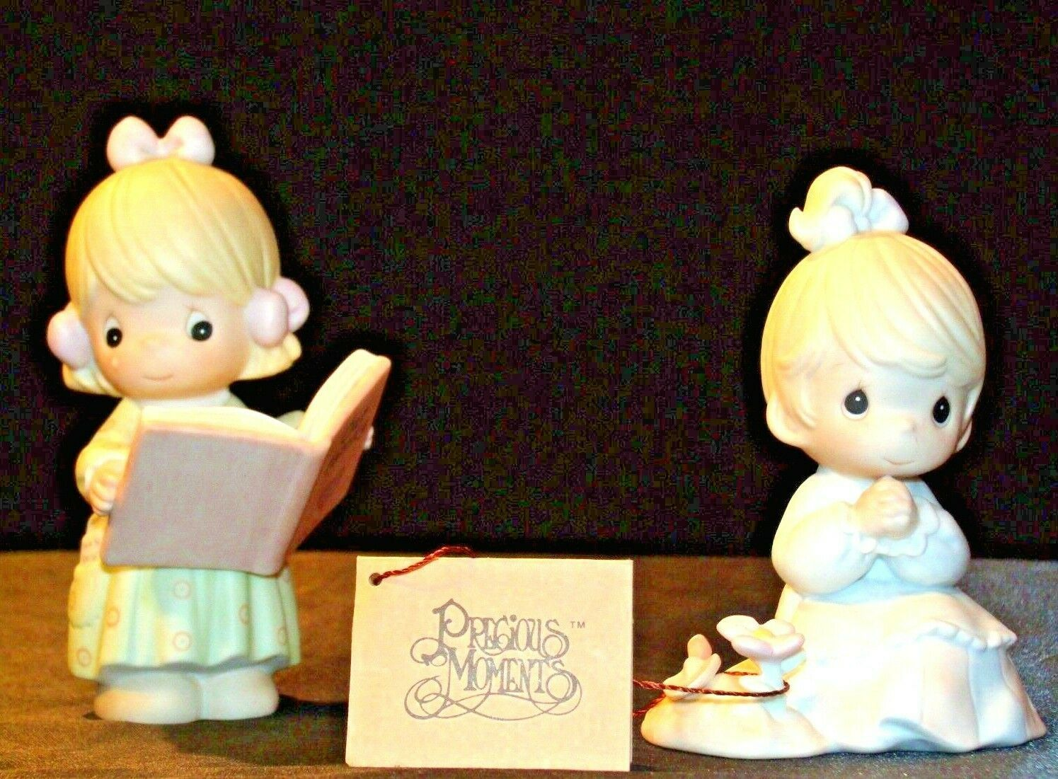 Precious Figurines Moments  731129 and PM922 AA-191839  Vintage Collectible