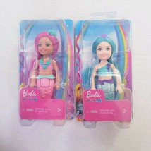 Dreamtopia Chelsea Mermaid Doll, Pink and Teal Set of 2 - $21.33