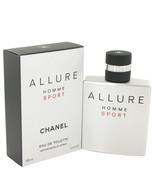 Allure Sport By Chanel Eau De Toilette Spray 3.4 Oz For Men - $159.68