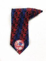 Ralph Marlin Super Fam New York Yankees Circles Vintage Tie Necktie Poly... - $19.79