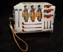 Clutch Bag/Wristlet/Makeup Bag - Golf image 1